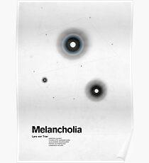 Melancholia minimalistic movie poster Poster