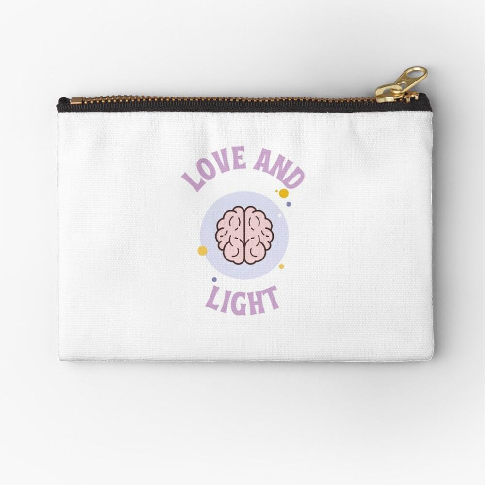 Love and Light Zipper Pouch