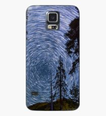 Polaris Star Trails Over Big Forest in King's Canyon Case/Skin for Samsung Galaxy
