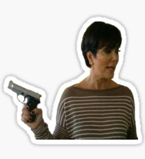 Kardashians with guns: Kris  Sticker