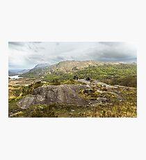 MacGillycuddy's Reeks, County Kerry, Ireland Photographic Print