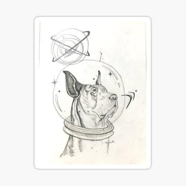 Astro Orb  Sticker