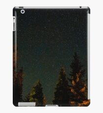 Sea of Beautiful Stars Over Forest  iPad Case/Skin