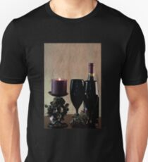 Wine For Two by Candlelight T-Shirt