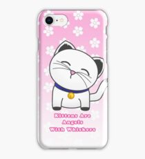 Angels With Whiskers iPhone Case/Skin
