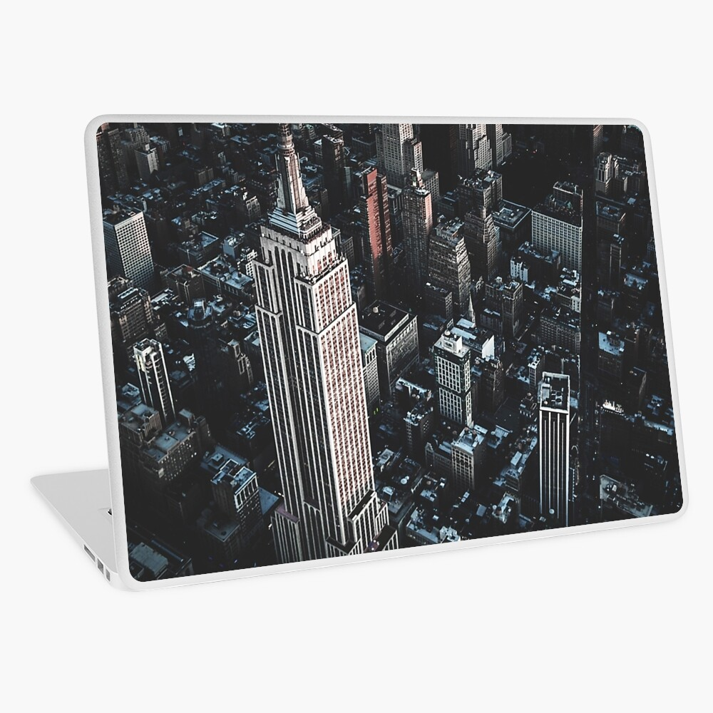 empire state building in nyc Laptop Skin