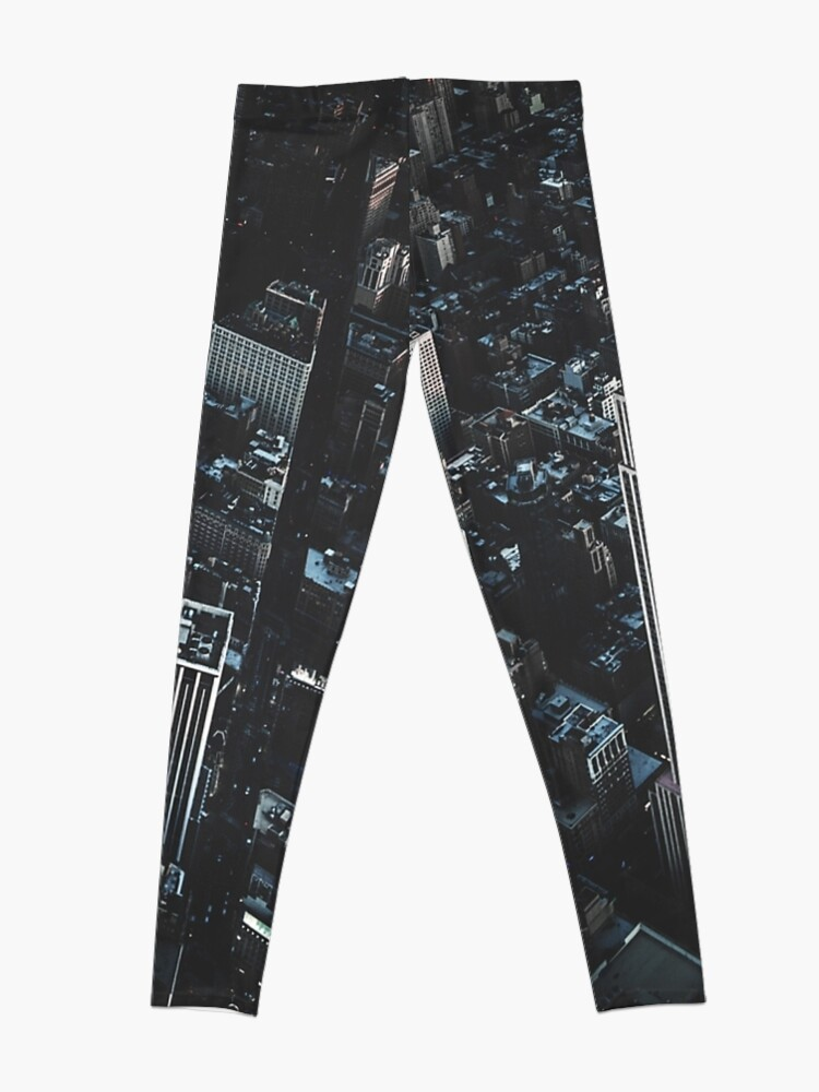 Alternate view of empire state building in nyc Leggings