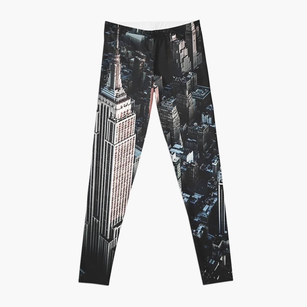 empire state building in nyc Leggings