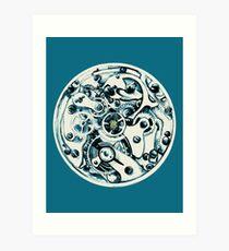 Clockwork Pineapple Art Print