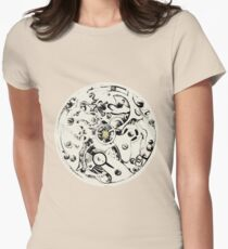 Clockwork Pineapple Womens Fitted T-Shirt