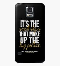 Small Steps Big Picture T-shirts & Homewares Case/Skin for Samsung Galaxy