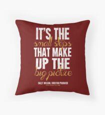 Small Steps Big Picture T-shirts & Homewares Throw Pillow