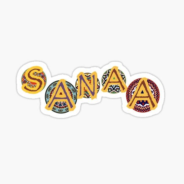 Sanaa Sticker