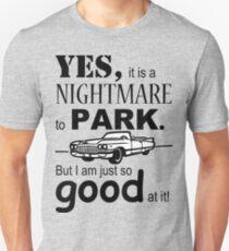 Cadillac Parking Unisex T-Shirt