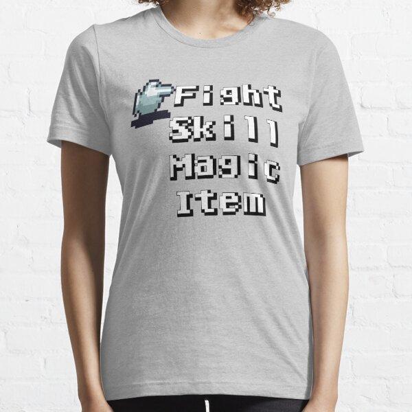 Turn-Based Battle Menu Essential T-Shirt