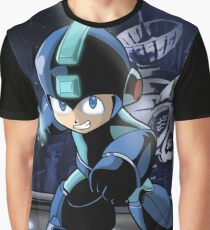 Megaman the Hero of 200x and 20xx Graphic T-Shirt