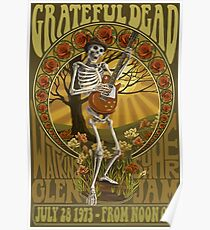 Grateful Dead Summer Jam Poster