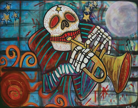 Day Of The Dead by Laura Barbosa