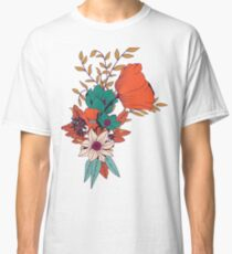 Botanisches Muster 010 Classic T-Shirt