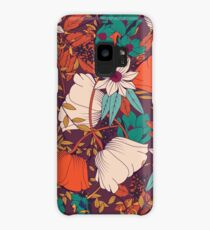Botanical pattern 010 Case/Skin for Samsung Galaxy