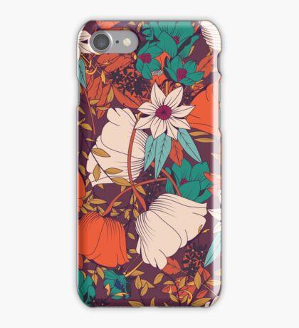 Botanical pattern 010 iPhone Case/Skin