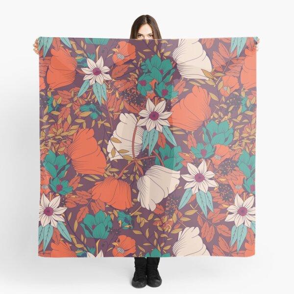 Botanical pattern 010 Scarf