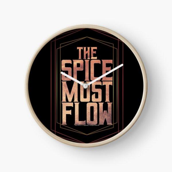 The spice must flow-Dune Movie- Baron Harkonnen  Clock