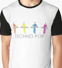 PIXEL8 | Kraftwerk | TECHNO POP Graphic T-Shirt