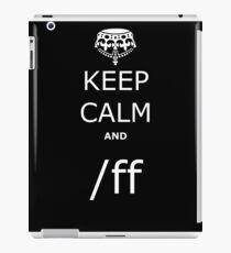 League KCA /ff iPad Case/Skin