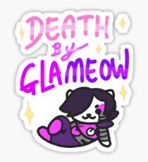 La mort par Glameow Sticker