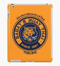 Sagat's Muay Thai 2 iPad Case/Skin