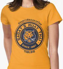 Sagat's Muay Thai 2 Womens Fitted T-Shirt