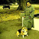 Friar & His Dog by waddleudo