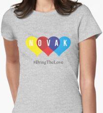 novak djokovic Womens Fitted T-Shirt