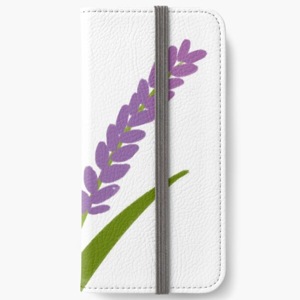 Lavender iPhone Wallet