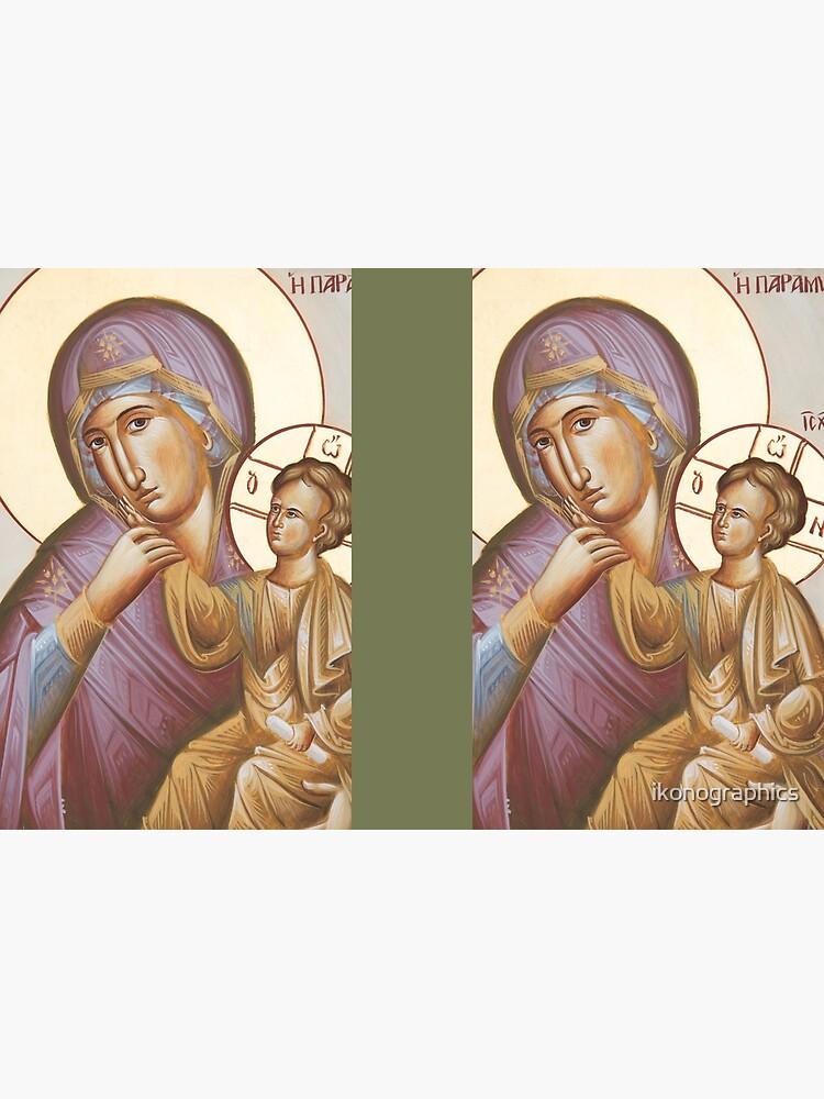 Theotokos Paramythia by ikonographics