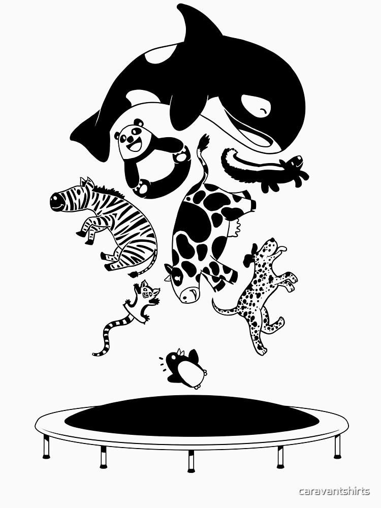 Bouncing Animals | Unisex T-Shirt