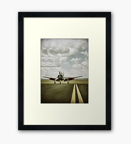 wasted days... Framed Print