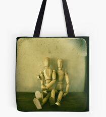 a stilted companionship Tote Bag