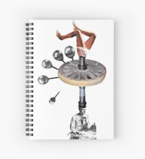 Centrifugal Thinking Spiral Notebook