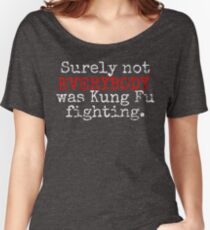 KUNG FU Women's Relaxed Fit T-Shirt