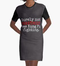 KUNG FU T-Shirt Kleid