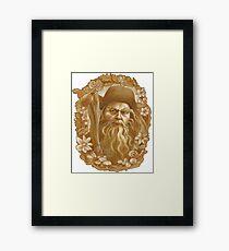 Radagast the Brown Framed Print