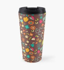 Flower pattern 03 Travel Mug