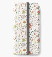 Flower pattern 01 iPhone Wallet/Case/Skin