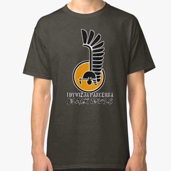 1st Armoured Division - 1 Dywizja Pancerna ' Black Devils' (Poland - Historical) Classic T-Shirt