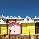 Beach Huts by JEZ22