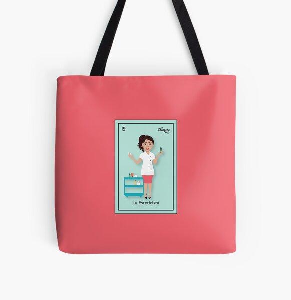 La Esteticista All Over Print Tote Bag