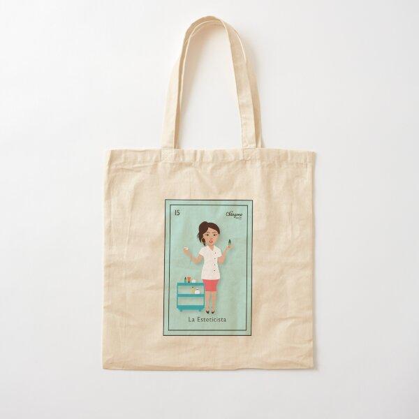 La Esteticista Cotton Tote Bag