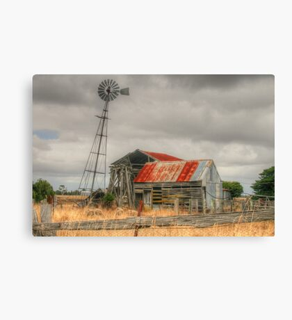 Country Gold Canvas Print